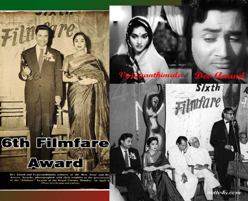 6th Filmfare Award