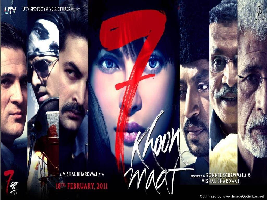 7 Khoon Maaf  Movie Review Hindi