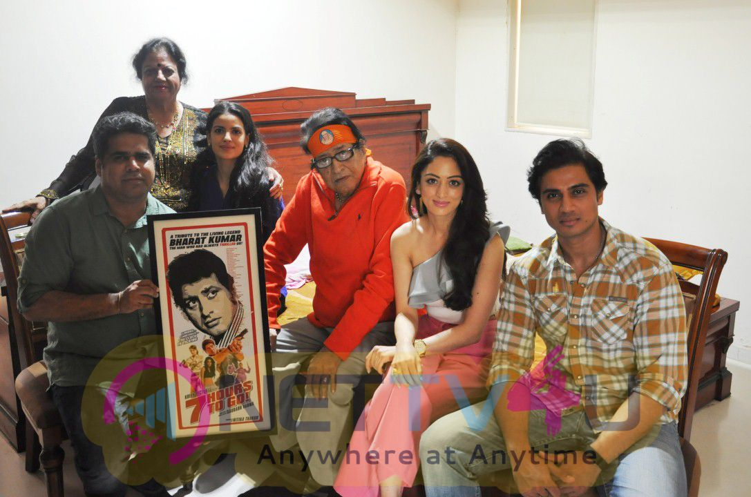 7 Hours To Go Trailer Launched By Honoring Living Legend Manoj Kumar Photos Hindi Gallery