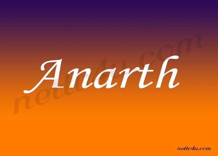 Anarth