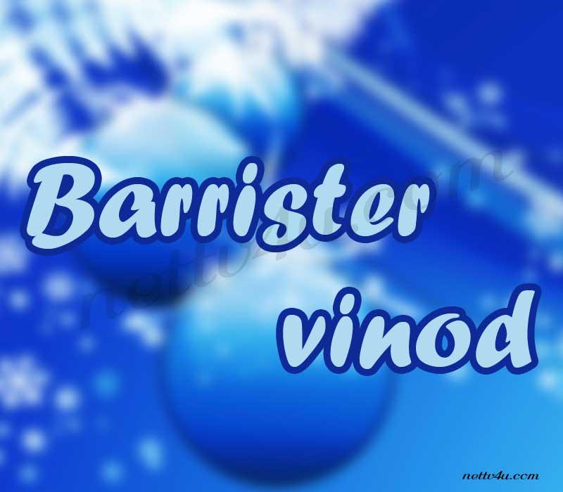 Barrister Vinod