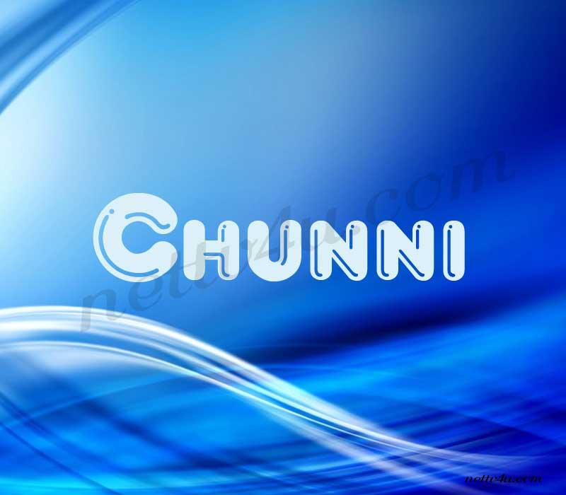 Chunni