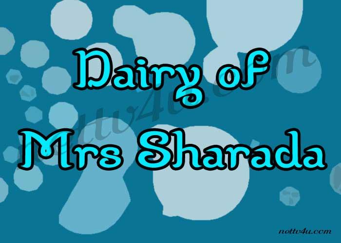 Dairy Of Mrs Sharada