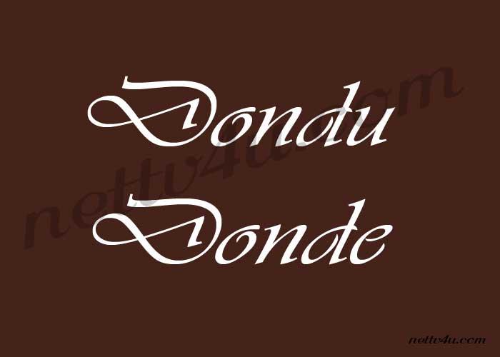 Dondu Donde