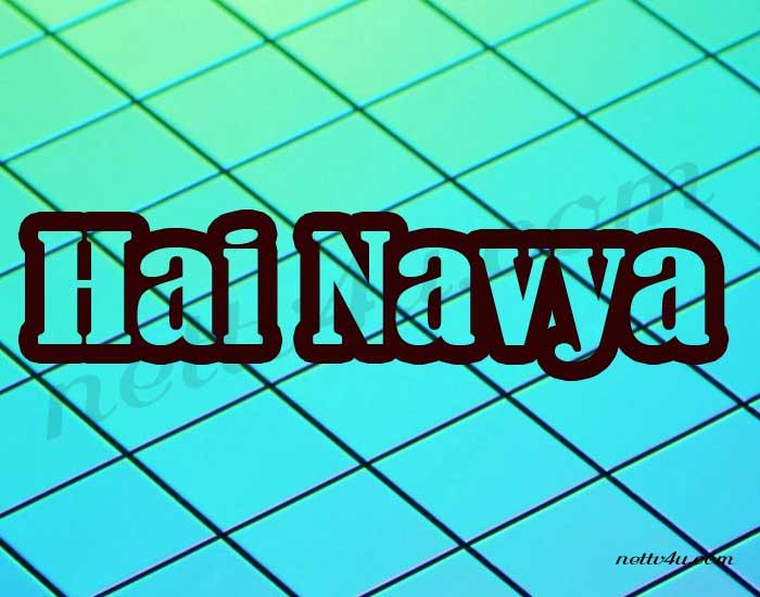 Hai Navya