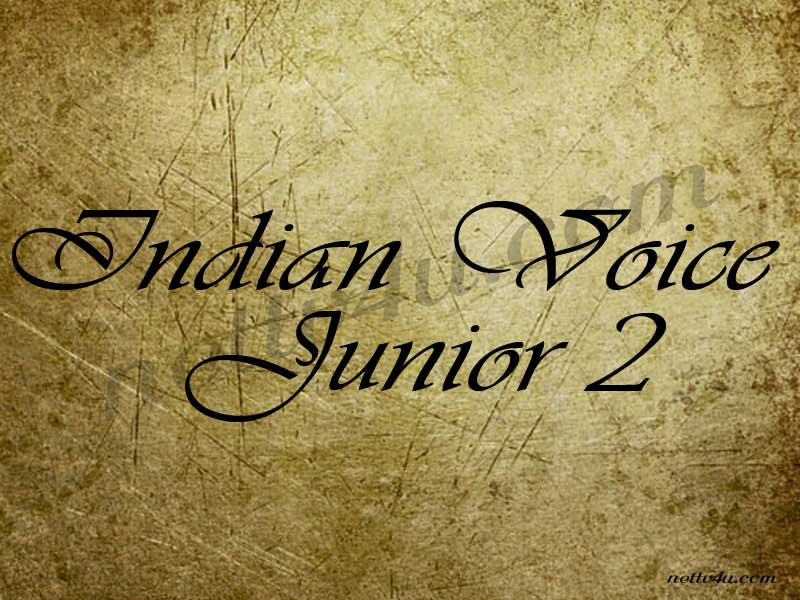 Indian Voice Junior 2