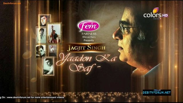 Jagjit Singh Yaadon Ka Safar