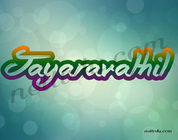 Jayaravathil