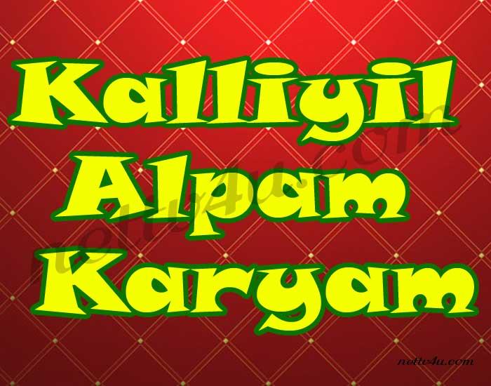 Kalliyil Alpam Karyam