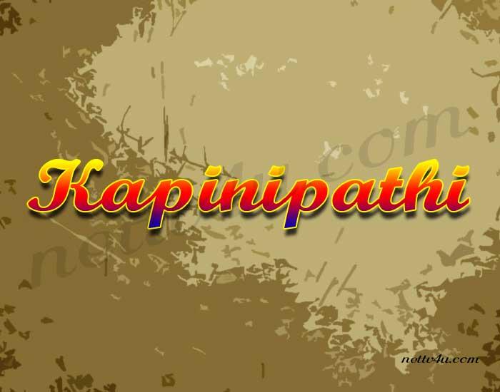 Kapinipathi