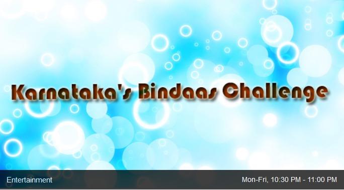 Karnatakas Bindaas Challenge