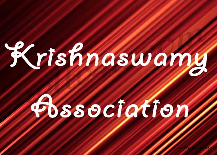Krishnaswamy Association