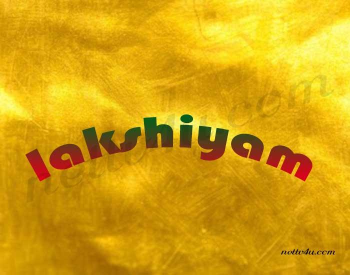 Lakshiyam