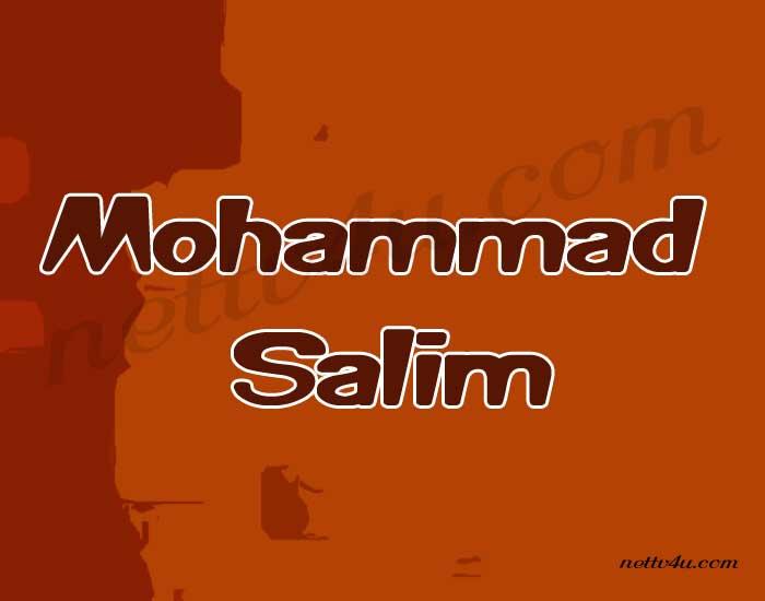 Mohammad Salim