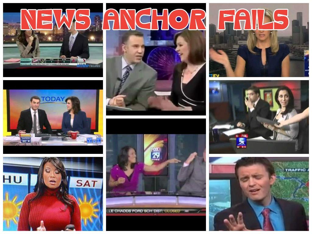 News Anchor Fails