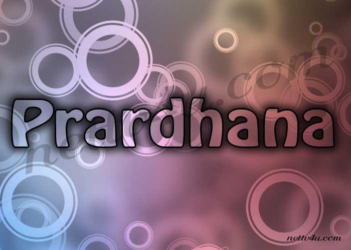 Prardhana