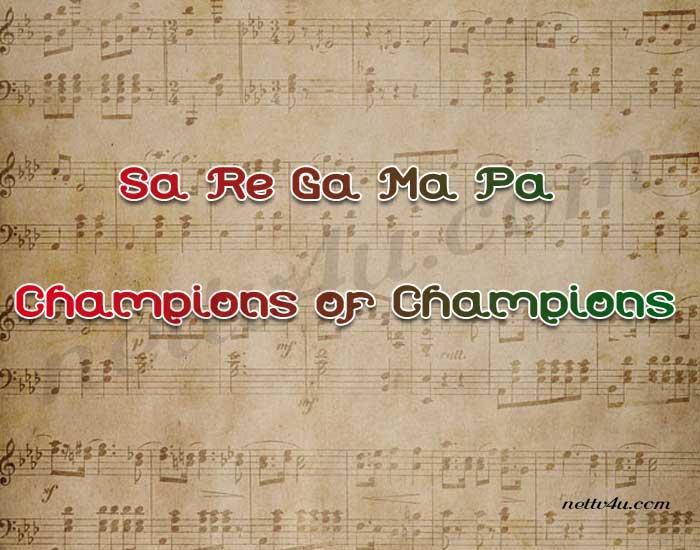 Sa Re Ga Ma Pa Champions of Champions