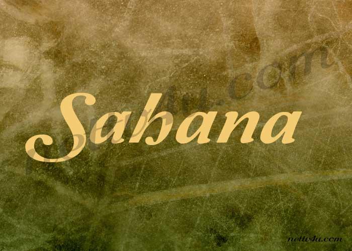 Sahana