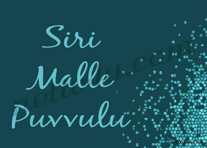 Siri Malle Puvvulu