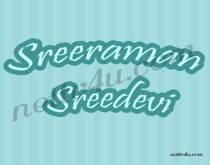 Sreeraman Sreedevi