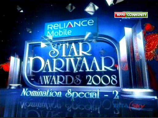 Star Parivaar Awards 2008