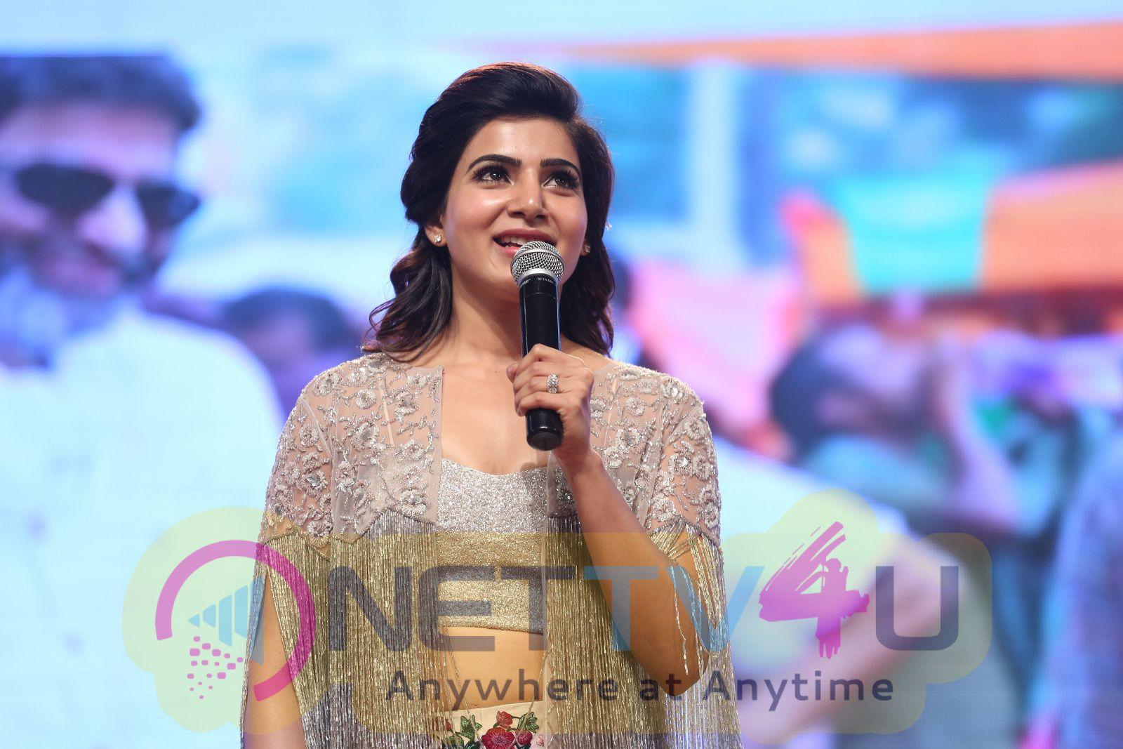 A Aa In Telugu: A Aa Telugu Movie Audio Launch Gorgeous Photos 218783