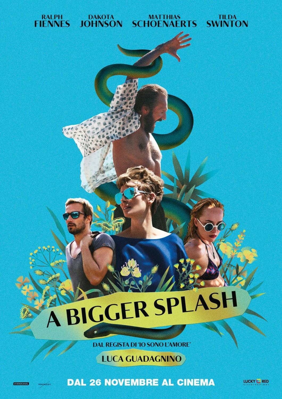 A Bigger Splash Movie Review English
