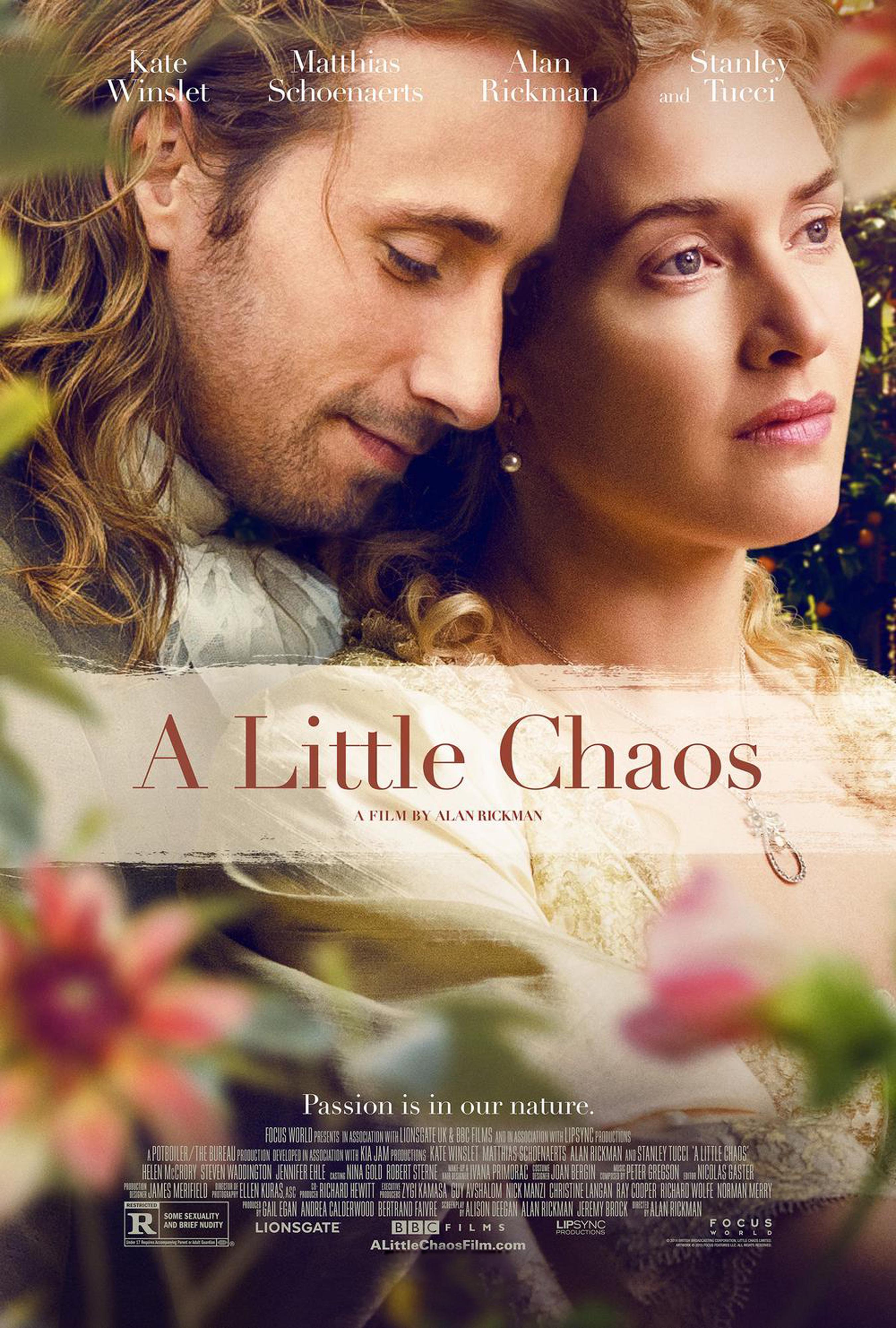 A Little Chaos Movie Review English