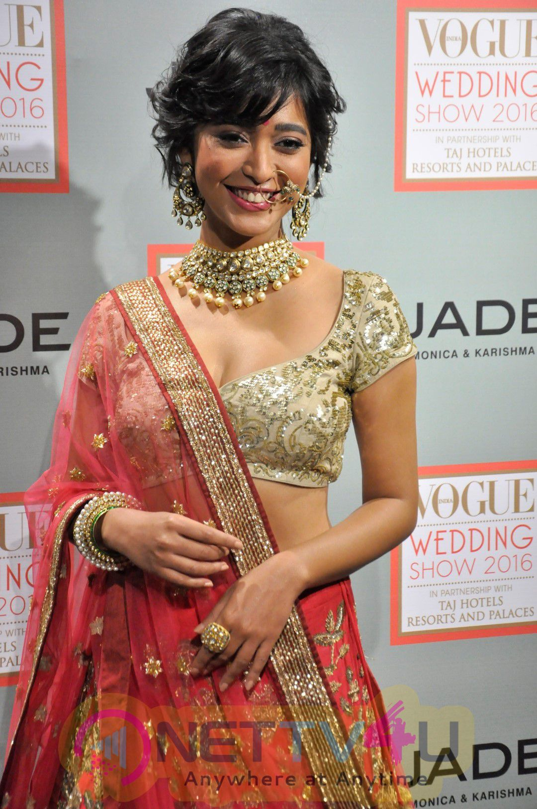 A Prelude To The Vogue Wedding Show 2016 With Actress Sayani Gupta Lovely Stills Hindi Gallery