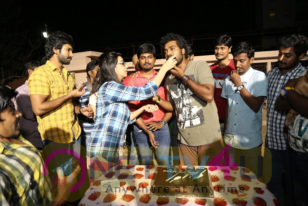 Actor Daniel  Birthday Celebration In The Sets Of Axess Film Factory Production No.2 Exclusive Stills