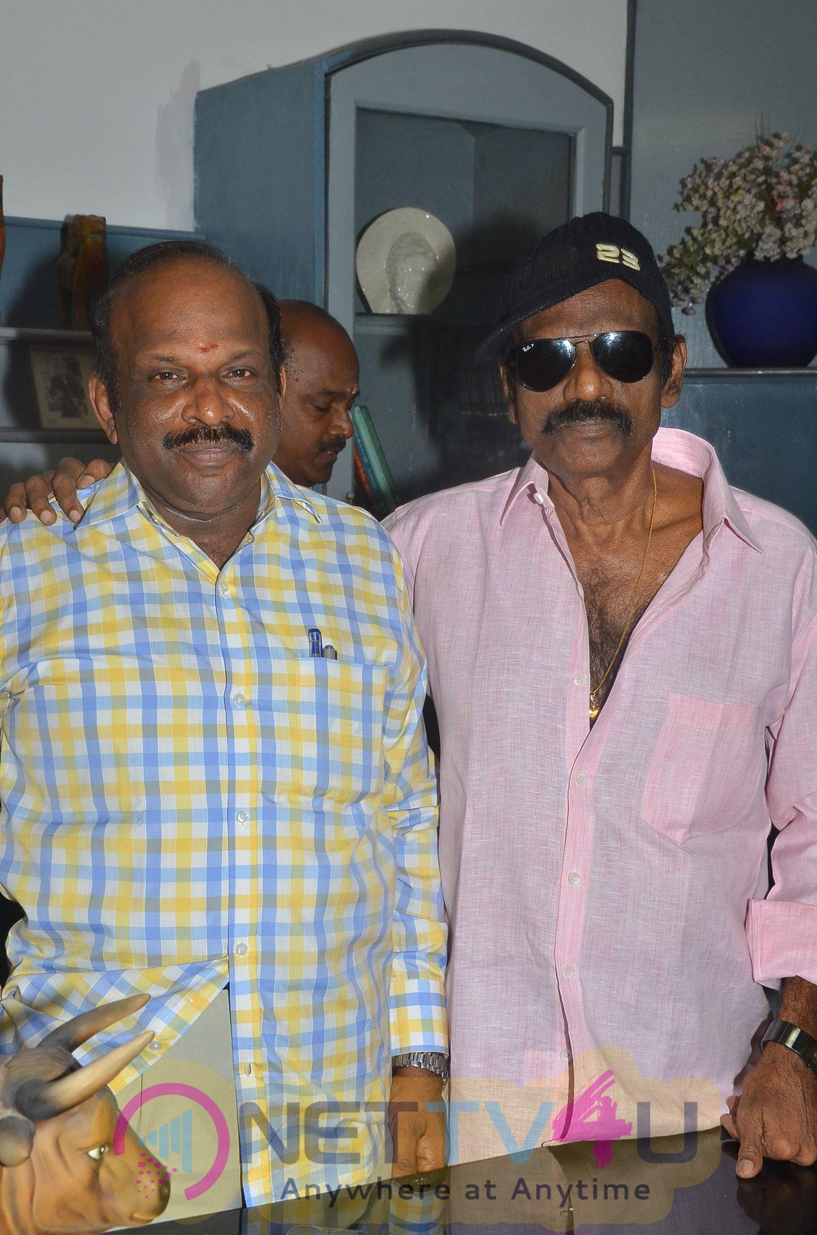 Actor Goundamani Birthday Celebration Beauteous Stills