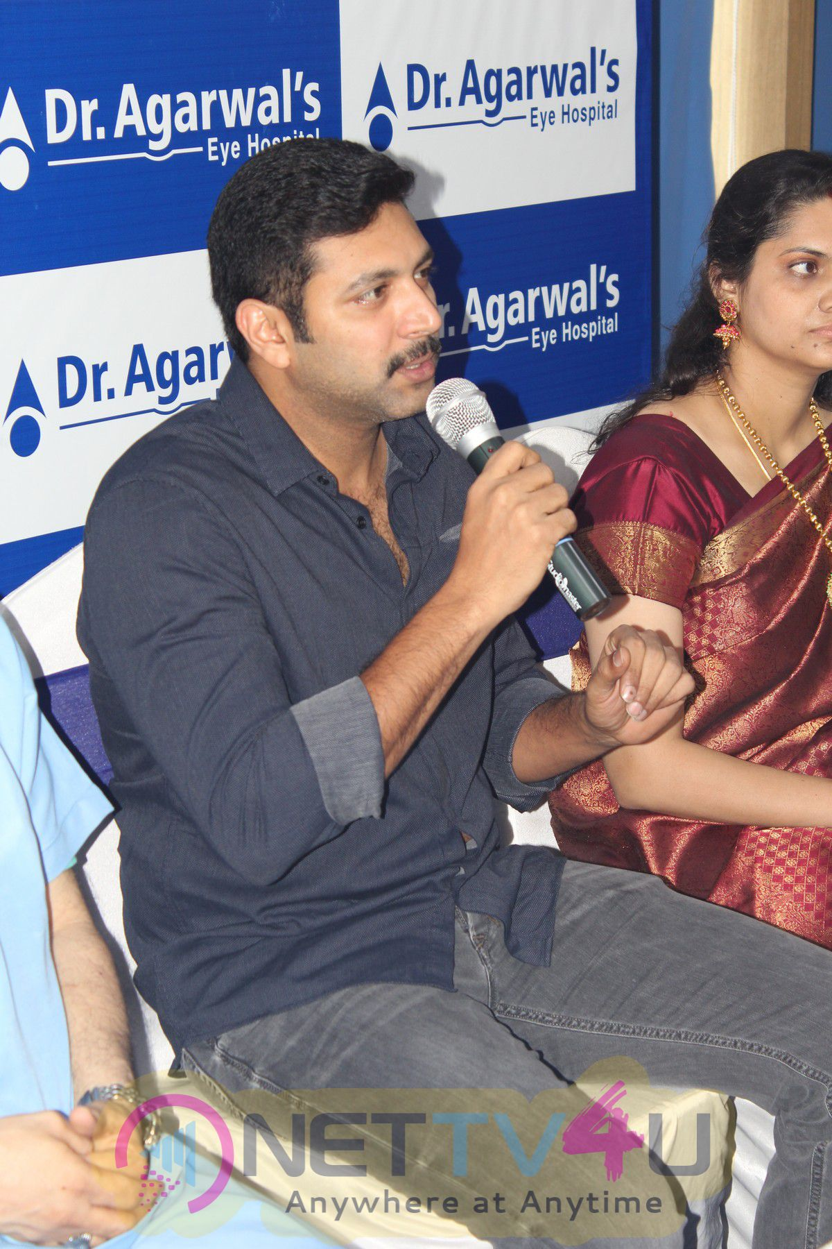 Actor Jayam Ravi Launches Agarwal Eye Hospital Annanagar Branch Delightful Stills