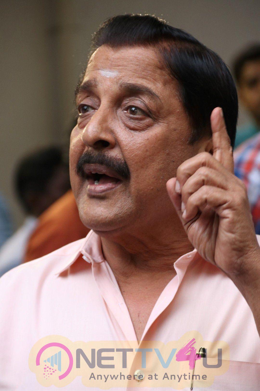 Actor Karthi Inaugurates Paintings Of Siva Kumar Event Photos