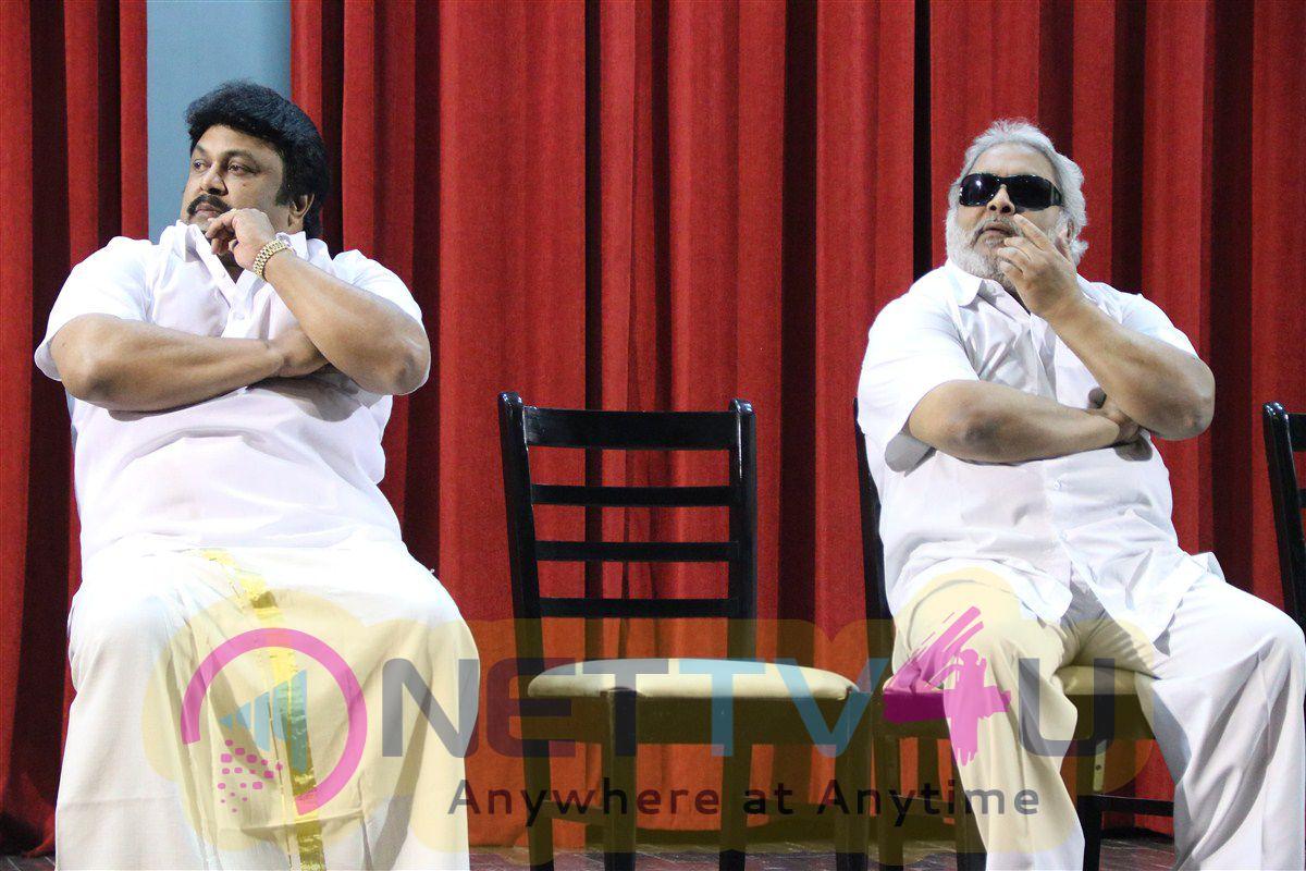 Actor Prabhu And Vikram Prabhu Press Meet Photos