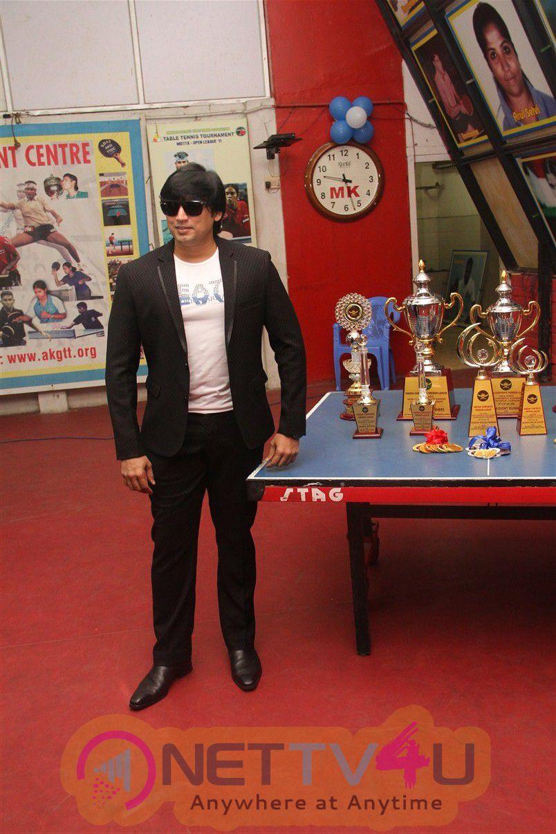 Actor Prashanth Opening In Kreeda Corporate Table Tennis Tournament Photos