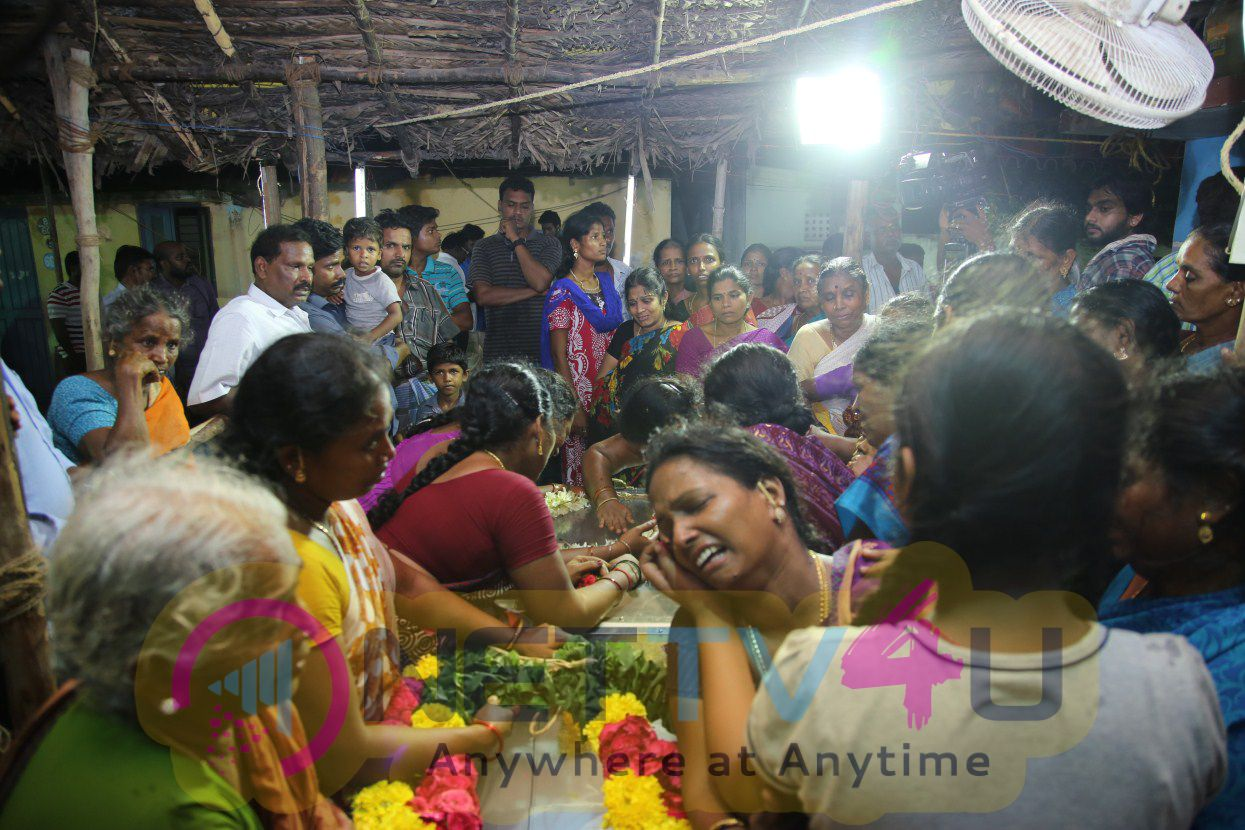 Actor Santhanam Father Passed Away Photos