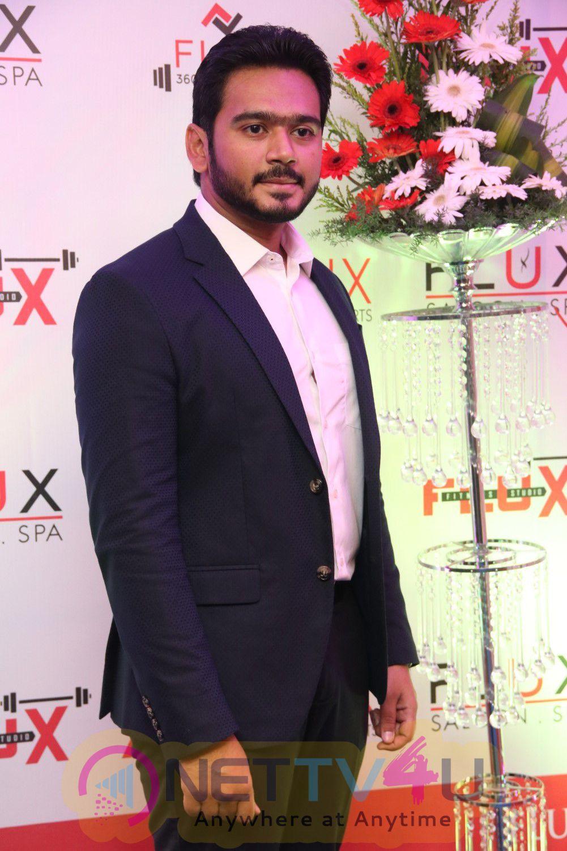 Actor Sarathkumar Launches Flux Fitness & Spa Saloon Perfect Stills