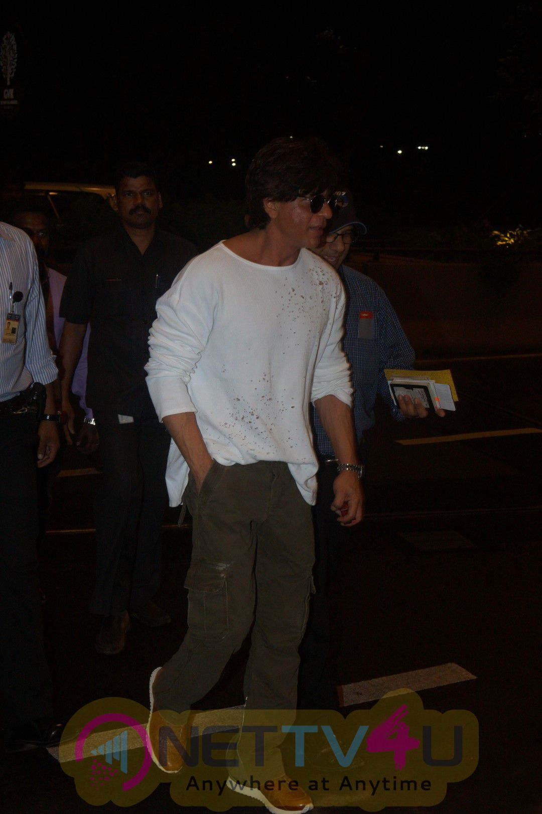 Actor Shahrukh Khan Spotted Airport Classic Stills
