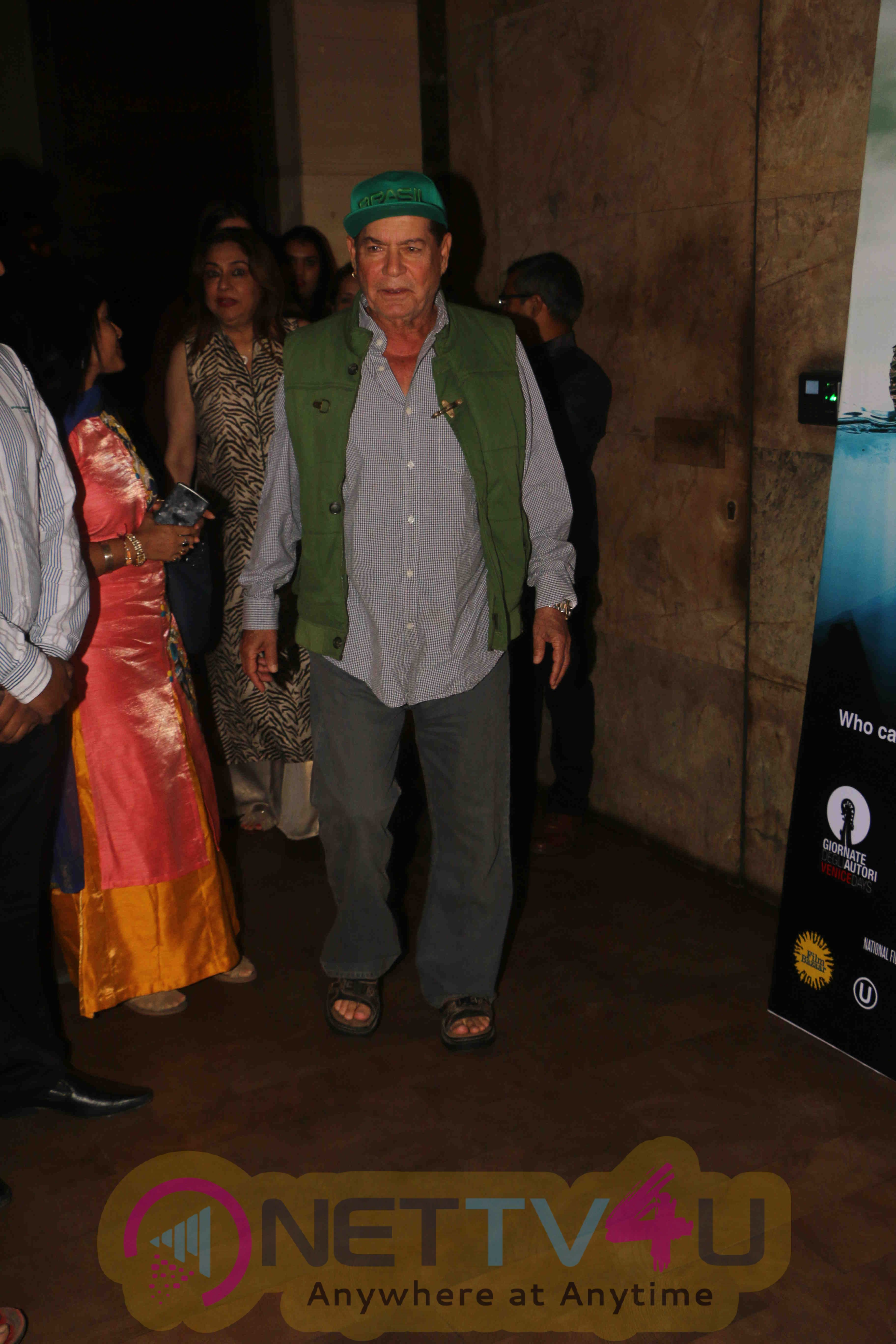 Actor Shatrughan Sinha Spotted At Light Box Theater For Film Akira Screening Photos