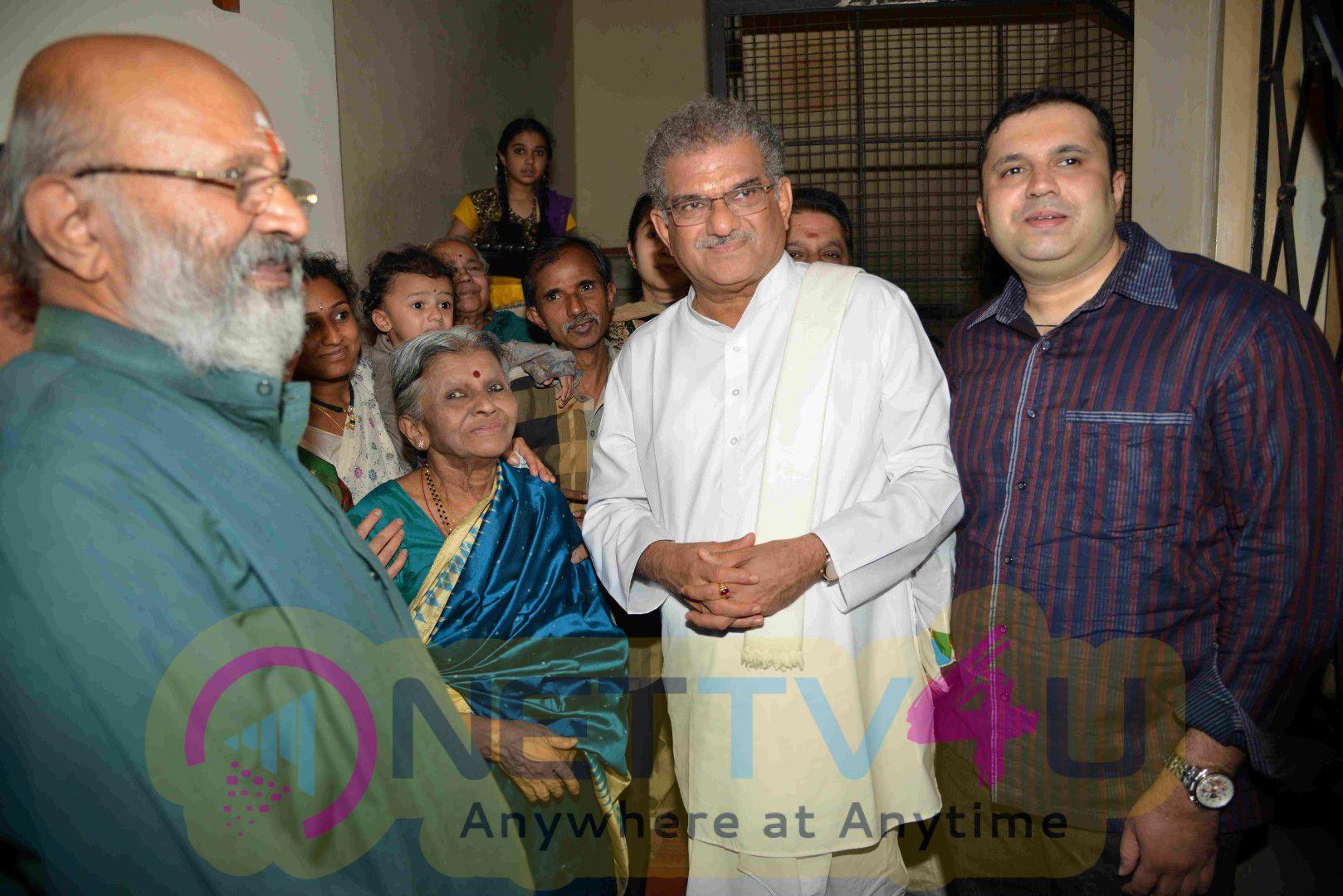 Actor Shivaram Jnana Vikasa Kendra Inauguration Stills