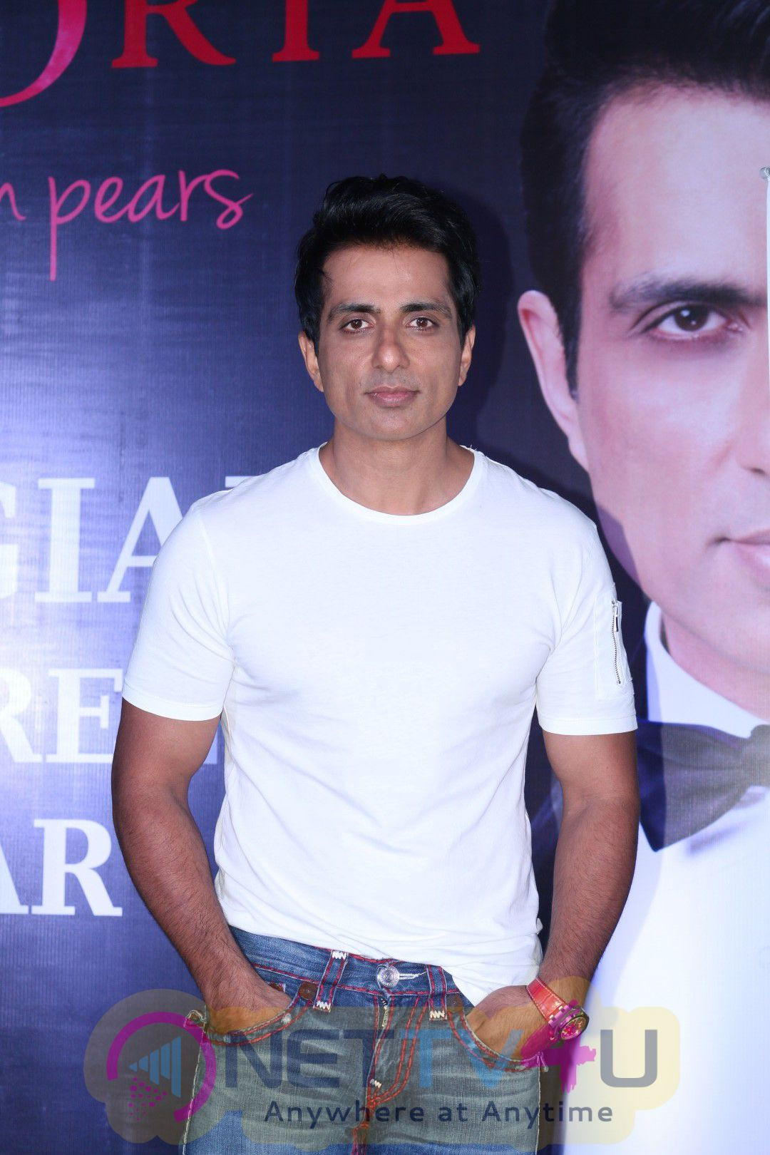 Actor Sonu Sood At Launch Of An Exotic International Fruit In India Cute Images