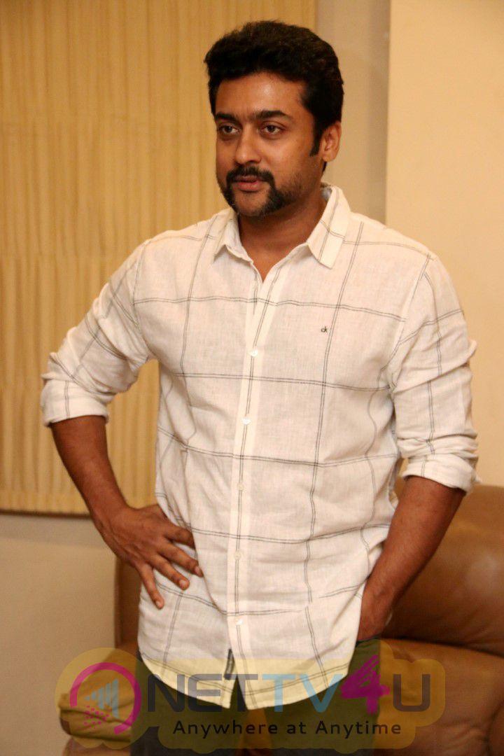 Actor Suriya Launch IvanThandhiran Movie First Look Poster Photos