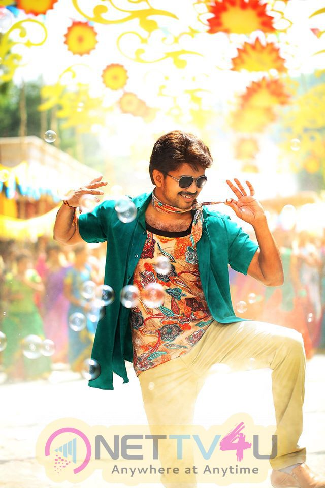 Actor Vijay's New Movie Bairavaa Latest And Exclusive Stills