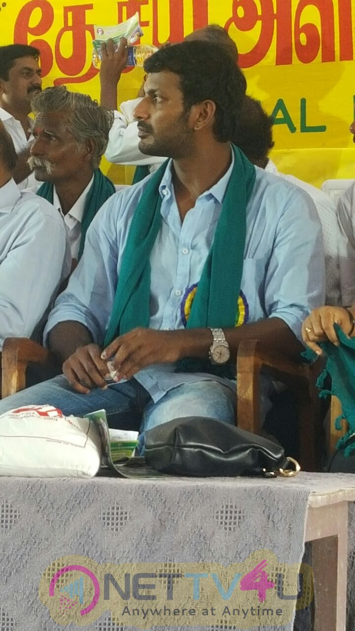 Actor Vishal Participate In National Level Rice Festival Stills