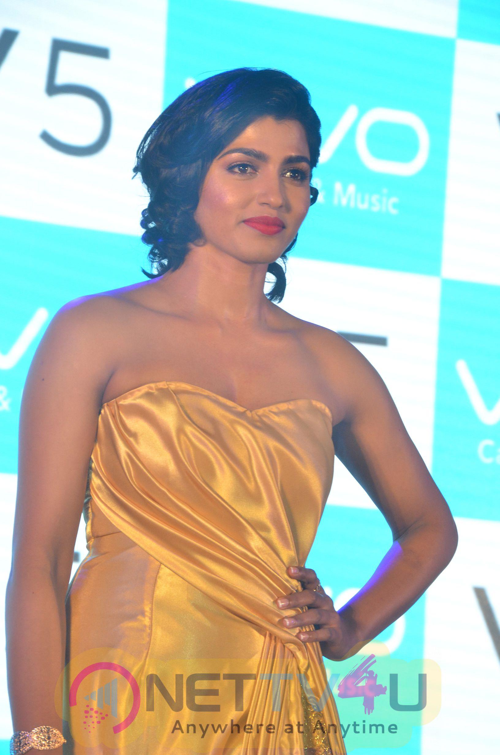 Actress Dhansika Launches Vivo V5 Mobile Photos