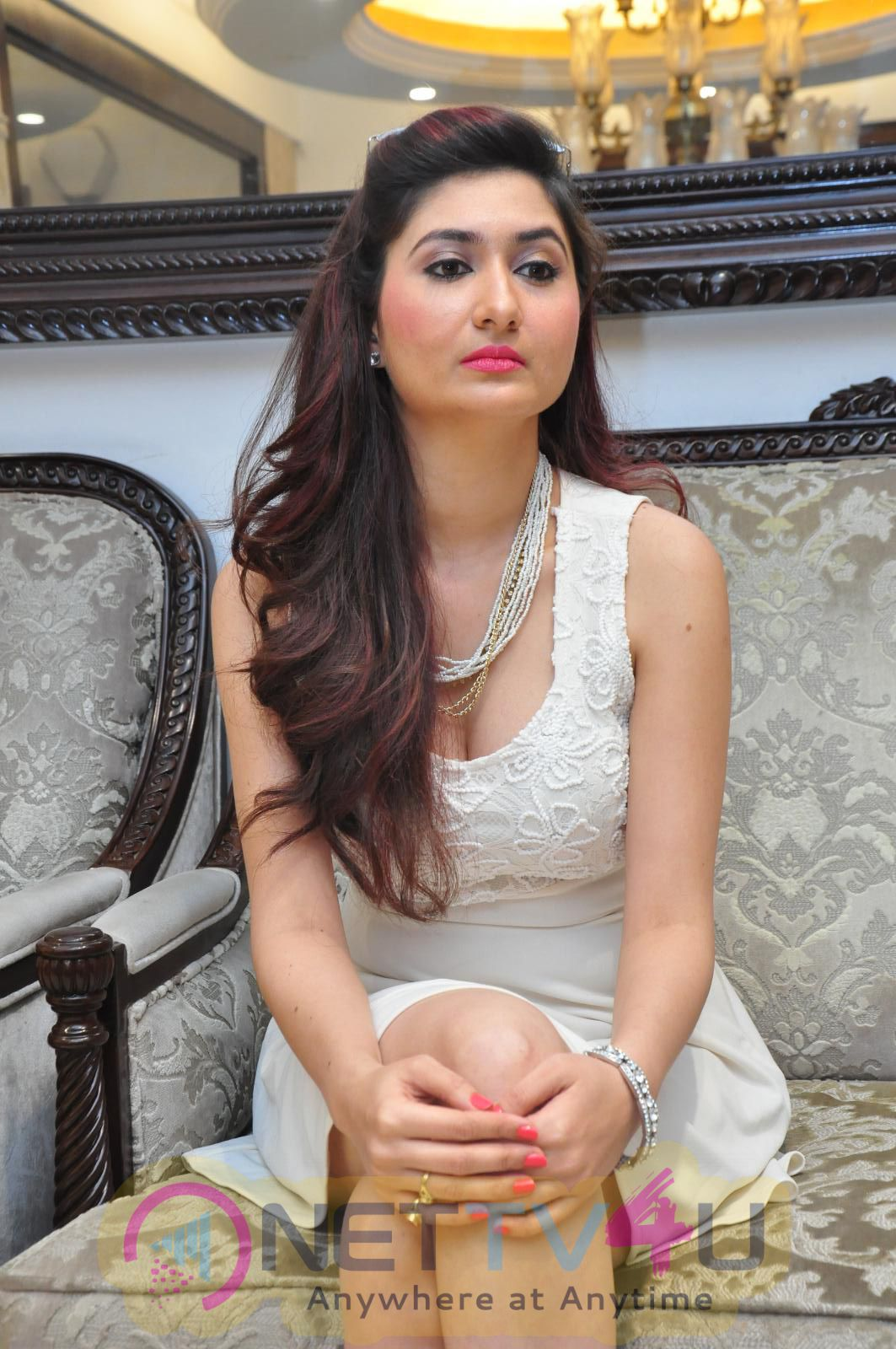 Actress Harshada Patil Beautiful Images At  Manepally Jewellery Exclusive Diamond Collection