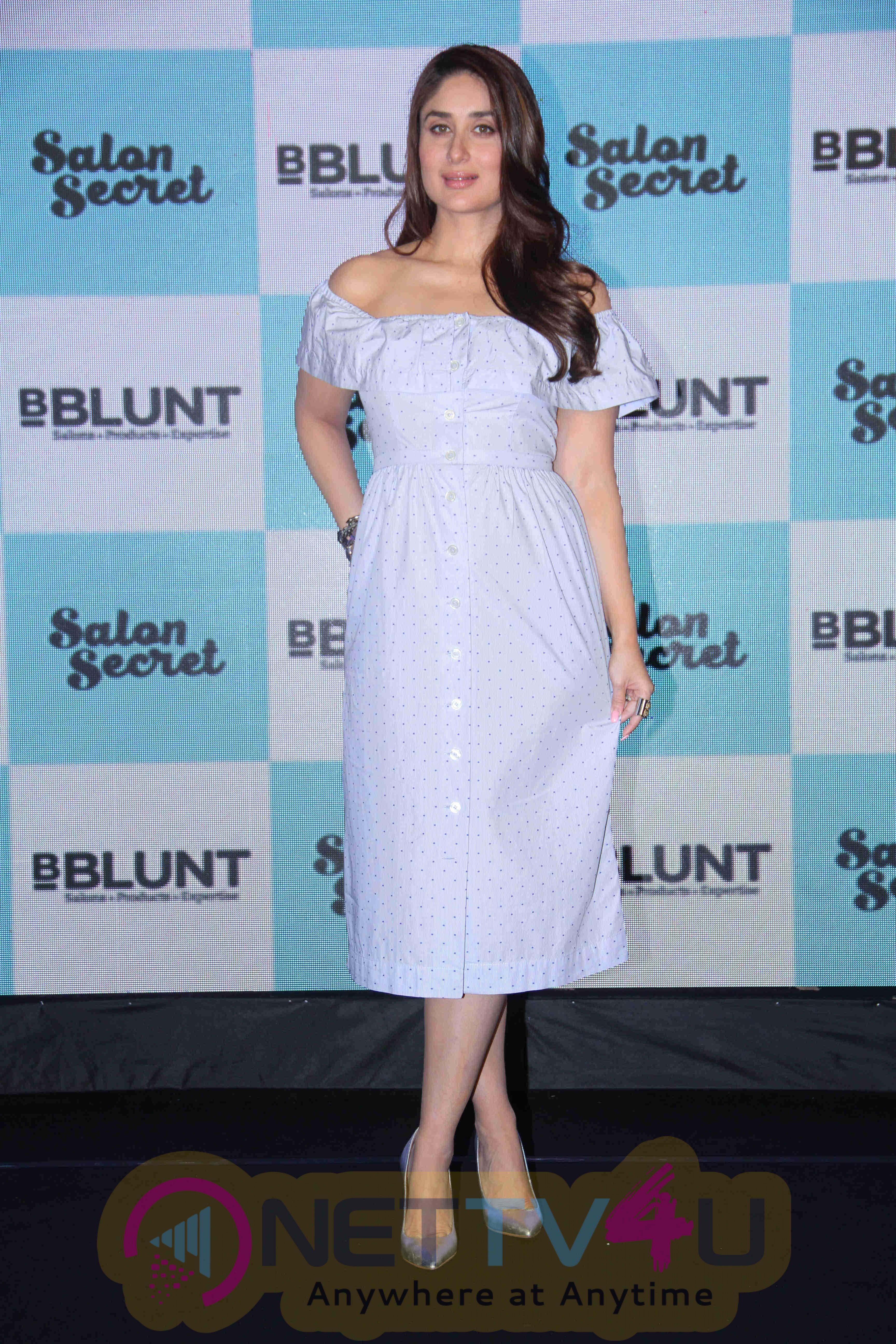 Actress Kareena Kapoor Khan Launches Bblunt Salon Secret Attractive Pics