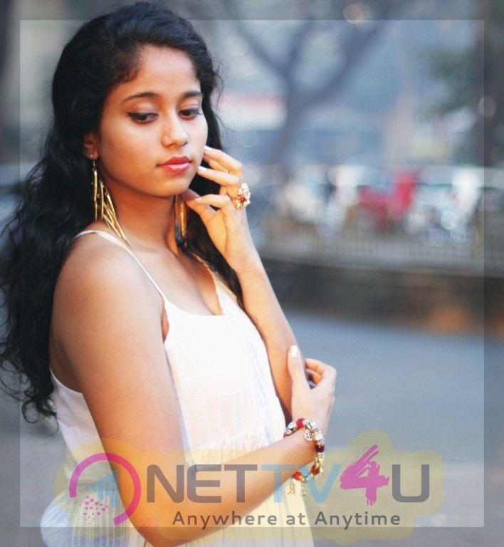 Actress Krisha Kurup New Photo Shoot  Exclusive Images