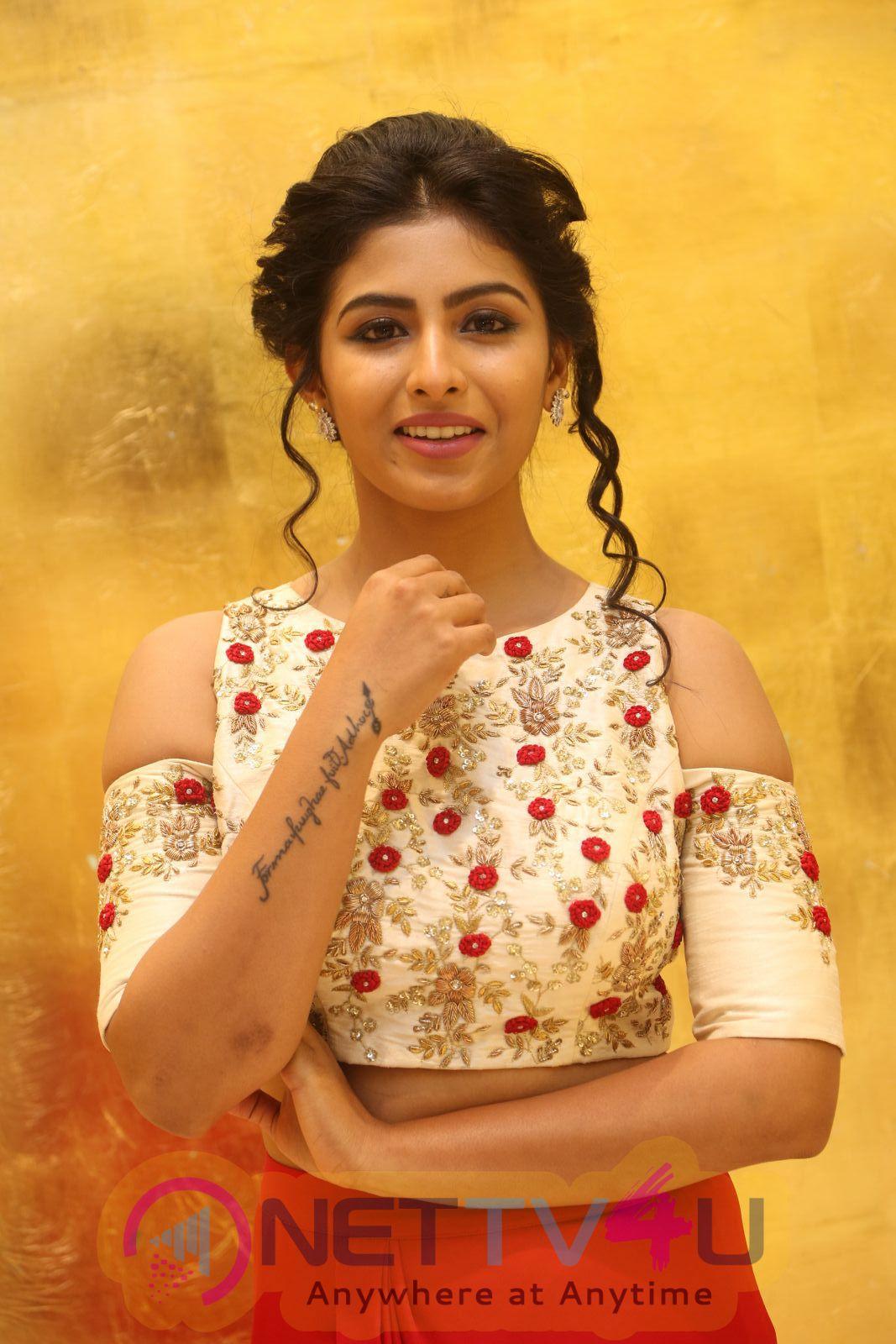 Actress Kruthika Jayakumar Attractive Images At Intlo Deyyam Nakem Bhayam Movie Trailer Launch