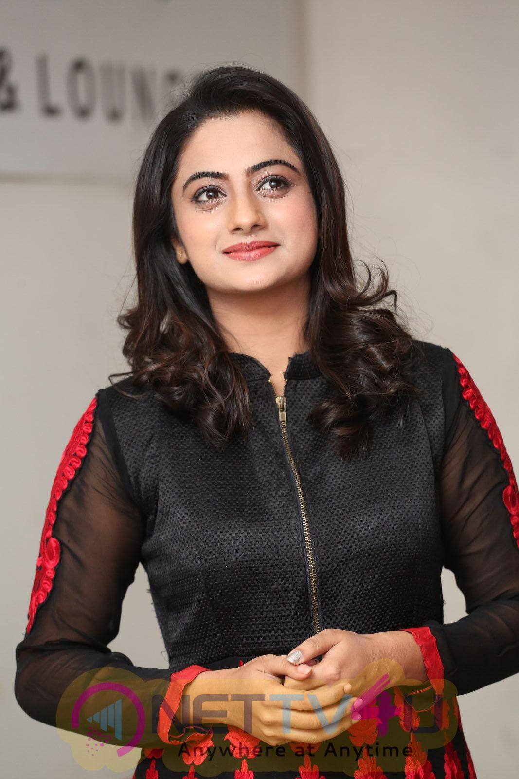 Actress Namitha Pramod Beautiful Photos At Chuttalabbayi Movie Success Meet